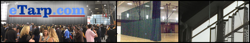 Gym Divider Curtains